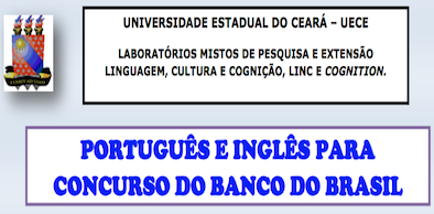 Português e Inglês para Concurso do Banco do Brasil