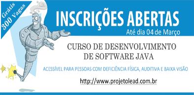 Curso Desenvolvimento de Software Java