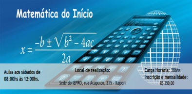 Curso Matemática do Início